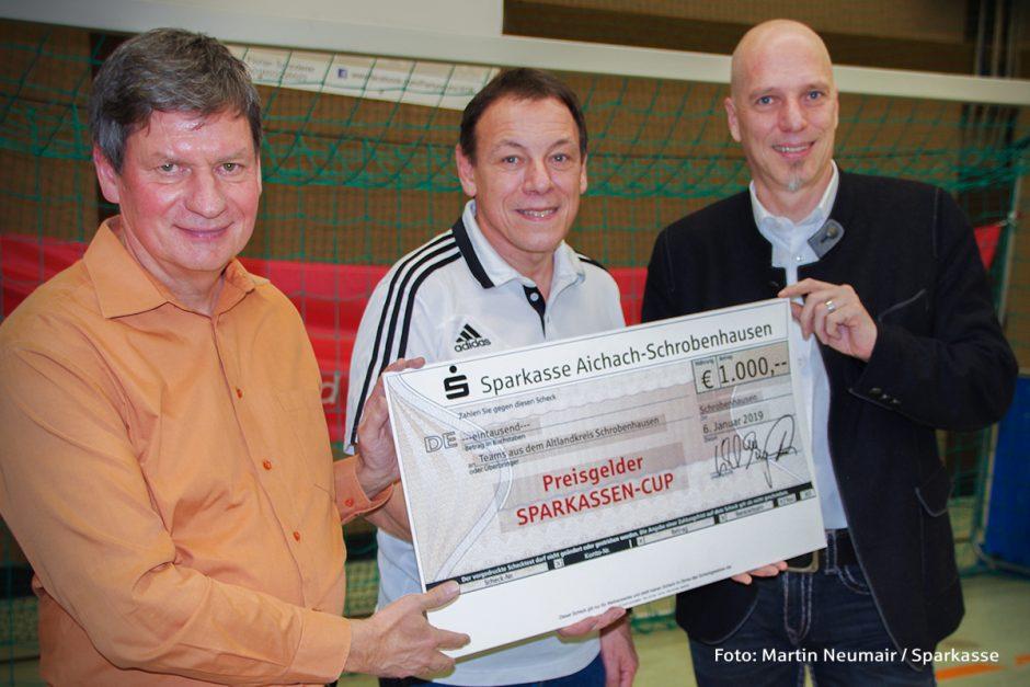 Premiere beim Sparkassen-Cup